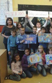 Mise-X 2013: Vesmírná družina ze ZŠ 5.května v Jablonci nad Nisou
