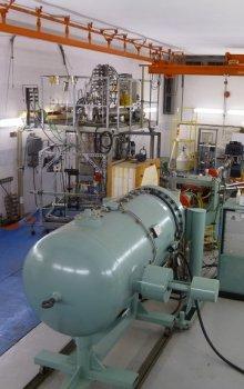 Van de Graafian accelerators laboratory.