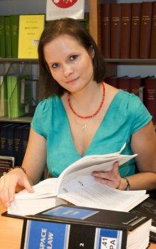 Karolina Rybářová, česká absolventka ESA programu Young Graduate Trainee
