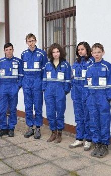 Deset finalistů Expedice Mars 2014.