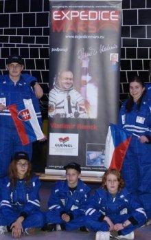 Slavnostní nástup posádky Expedice Mars