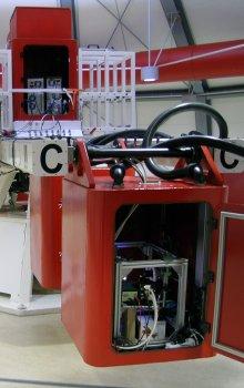 Velká centrifuga v ESA/ESTEC pro experimenty v hypergravitaci