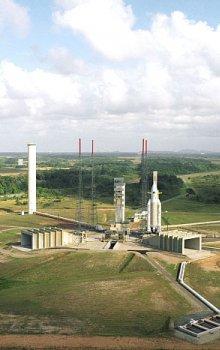 Kosmodrom ESA ve Francouzské Guayaně (CSG)