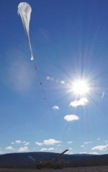 Start stratosférického balónu BEXUS