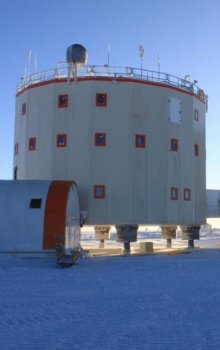 Antarctic research station Concordia