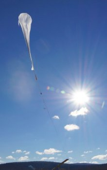 Start stratosférického balónu BEXUS.