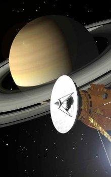 Sonda Cassini-Huygens u planety Saturn