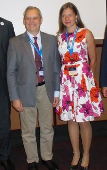 At the event Czech students met with Romanian astronaut Dumitru Prunariu and Rupert Gerzer from the DLR.