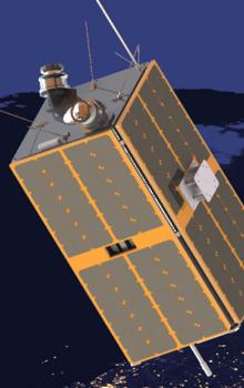 Ilustrace připravované družice ESEO.