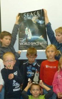 Světový kosmický týden 2014 a Mladí vědci v Mníšku pod Brdy.
