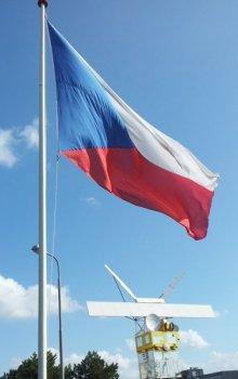 Česká vlajka v ESA/ESTEC