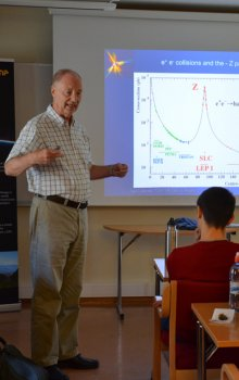 Přednáška na European Space Camp.