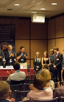 Final thanking to the participants and organizers of the Humans in Space Symposium 2015.