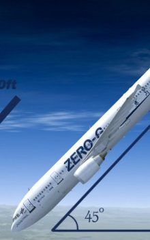 Experimenty v mikrogravitaci při parabolických letech Zero-G