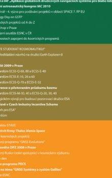 Přehled hlavních akcí pořádaných CSO