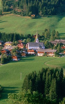 Městečko Alpbach, Tirolsko