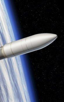 Budoucí nosná raketa Ariane 6.