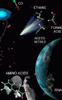 Astrobiologie - věda o hledání života ve vesmíru.