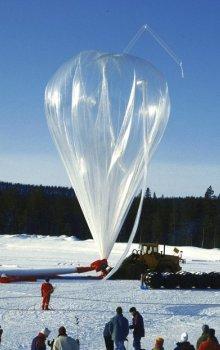 Stratosférický balon BEXUS.