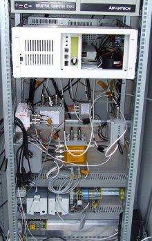 Zařízení pro kontrolu a digitalizaci signálu.