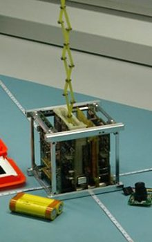 CzechTechSat engineering model.