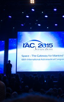 Opening ceremony of the IAC 2015.