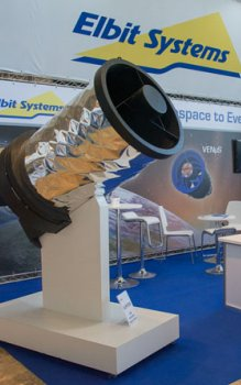 High resolution telescope for remote sensing built by the Israeli company Elbit Systems.
