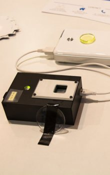 RasPIX - the latest model of the radiation detector based on TimePIX developed in UTEF CVUT.