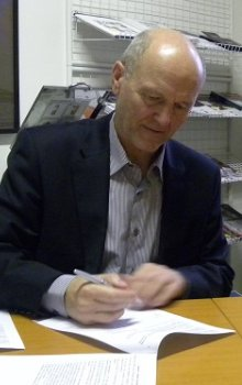 Ředitel CSO Jan Kolář a zástupkyně SGAC Minoo Rathnasabapathy