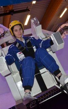 Robotické křeslo na nácvik pohybu ve volném vesmíru v ESC Transinne.