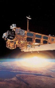 The European Earth Observation satellite Envisat.