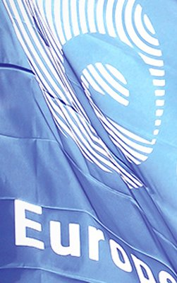 Europian Space Agency flag.