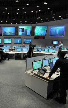 ESOC mission operation room.