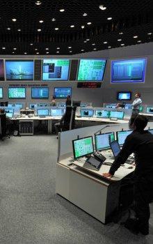 Operační centrum ESOC.