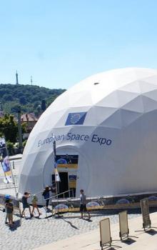 Stan Europian Space Expo v Praze.
