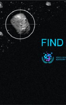 Soutěž Find an Asteroid 2015.