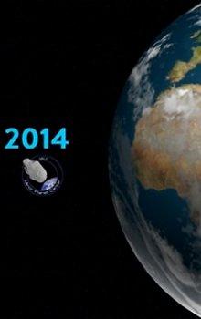 Soutěž Find An Asteroid 2014.