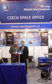 CSO booth at IAC 2009.