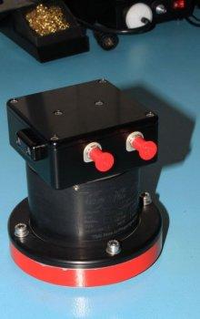 Přístroj European Laser Timing.