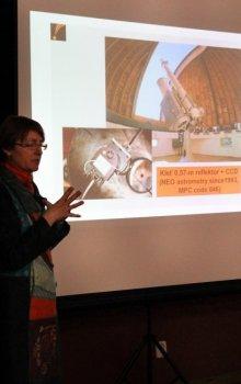 Ředitelka observatoře Kleť hovořila o výzkumu planetek a komet a o poskytování dat z pozorování mezinárodní pozorovací síti ESA.