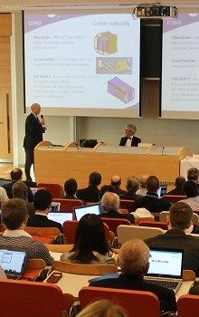 ITU Symposium ITU on small satellites in Prague.