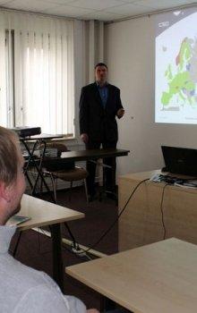Jindřich Krása z CSO hovořil o příležitostech v kosmonautice v oblasti ICT.
