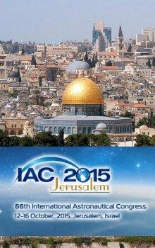 IAC 2015 v Jeruzalémě.