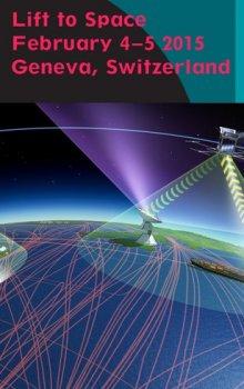 Lift to Space. V pozadí ilustrace systému automatické identifikace a sledování pohybu lodí (SAT-AIS).