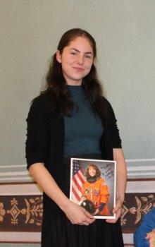 Vzpomínka na setkání Elišky Trampotové (Expedice Mars) s astronautkou.