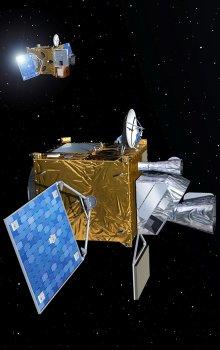 Ilustrace mise Meteosat třetí generace.