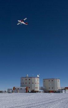Antarktická stanice Concordia.