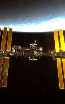 Mezinárodní kosmická stanice ISS.