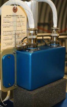 Nezávislý detektor záření BIRD.