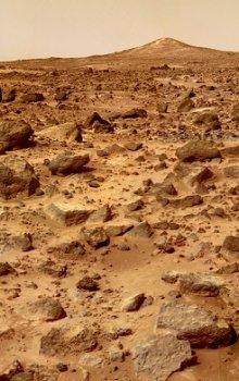Povrch Marsu.